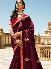 Silk Border Trendy Saree