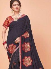 Silk Classic Saree in Black