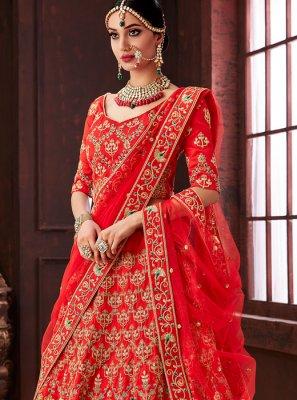 Silk Designer Lehenga Choli