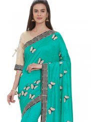 Silk Embroidered Casual Saree