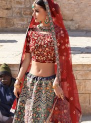 Silk Embroidered Trendy A Line Lehenga Choli