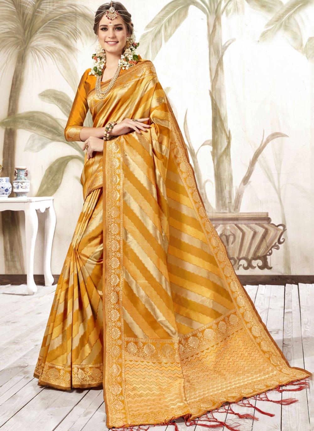 Silk Festival Trendy Saree