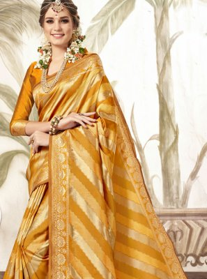 Silk Festival Trendy Saree
