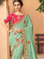 Silk Handwork Classic Saree