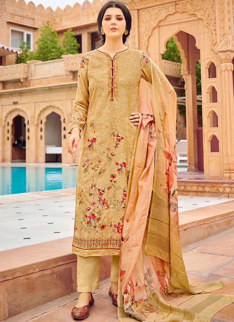 Silk Party Designer Palazzo Salwar Suit
