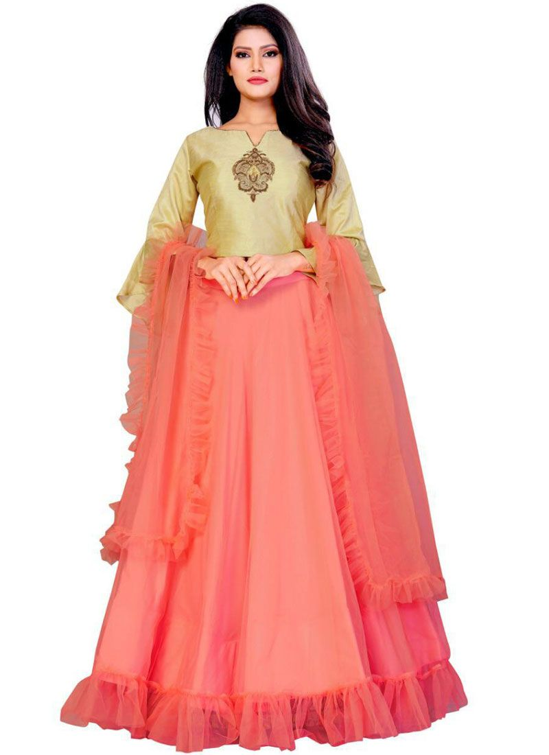 Silk Party Trendy Designer Lehenga Choli