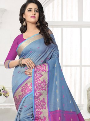 Silk Saree For Casual