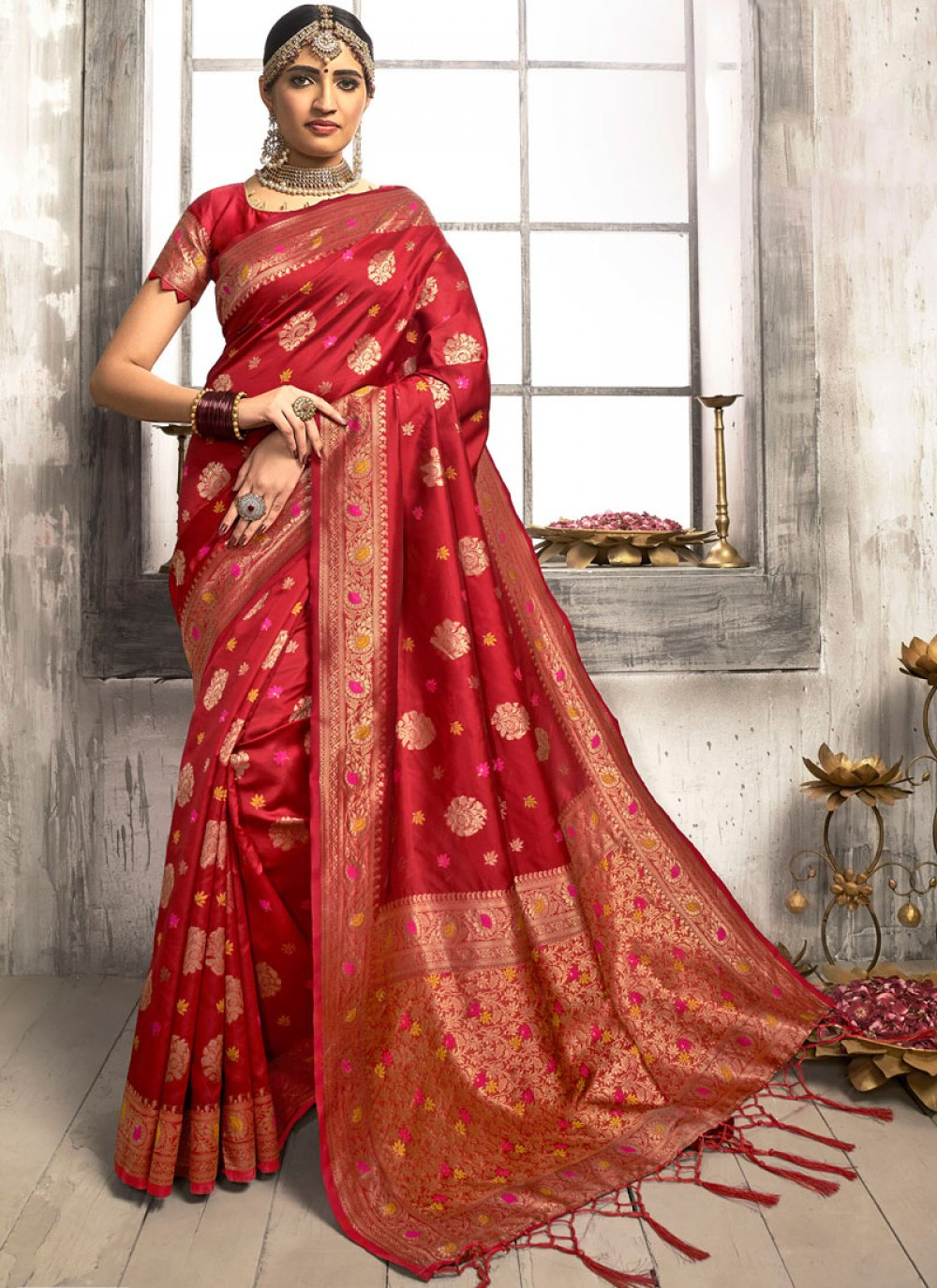 Silk Saree For Party