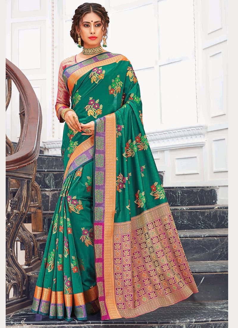 Silk Saree For Reception