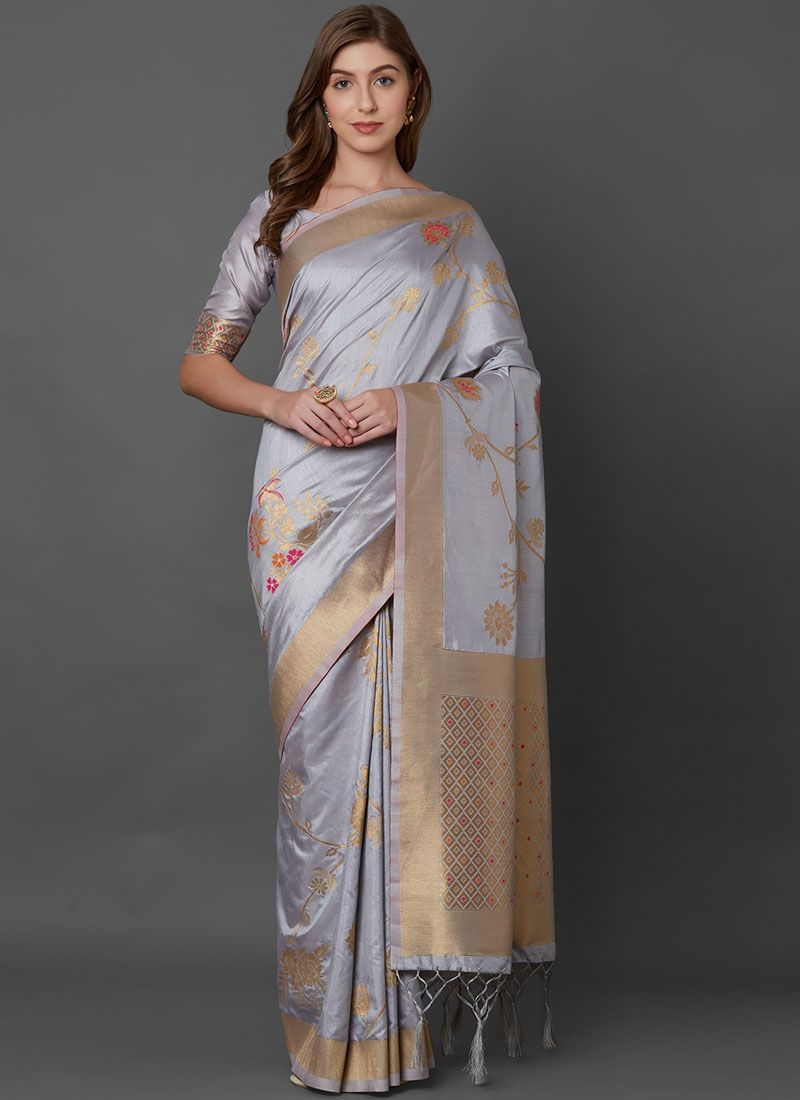 Silk Weaving Silk Saree