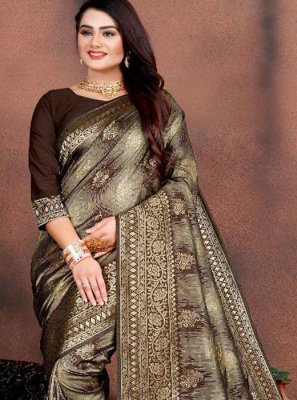 Silk Weaving Trendy Saree
