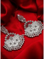 Silver Ceremonial Ear Rings