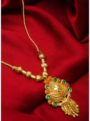 Stone Gold Mangalsutra