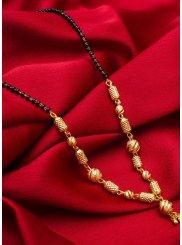 Stone Work Gold Mangalsutra
