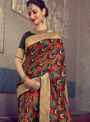 Tamannaah Bhatia Art Silk Bridal Designer Traditional Saree