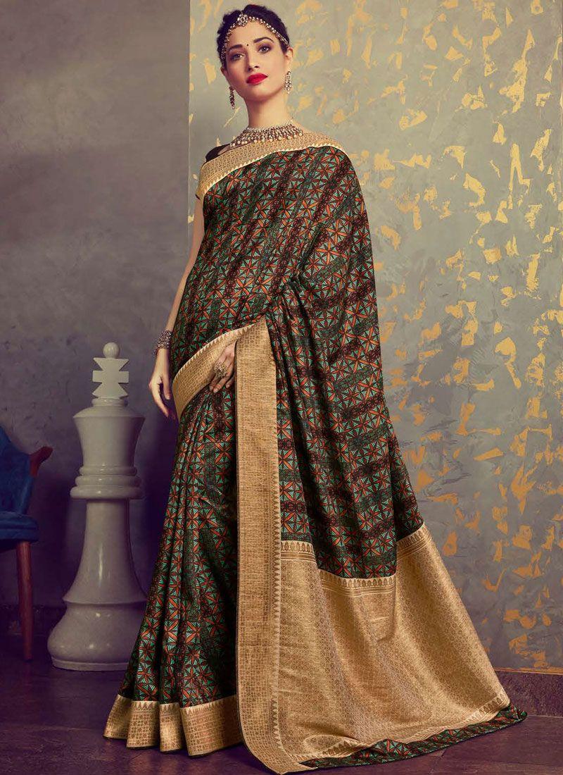 Tamannaah Bhatia Art Silk Traditional Designer Saree