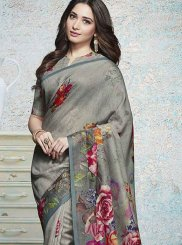 Tamannaah Bhatia Honourable Multi Colour Printed Saree