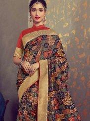 Tamannaah Bhatia Multi Colour Designer Traditional Saree