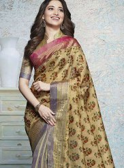 Tamannaah Bhatia Multi Colour Festival Printed Saree