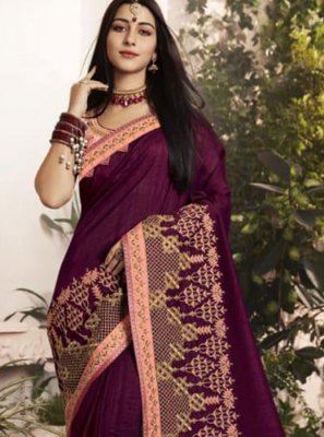 Thread Georgette Classic Saree