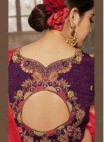 Thread Jacquard Silk Designer Traditional Saree
