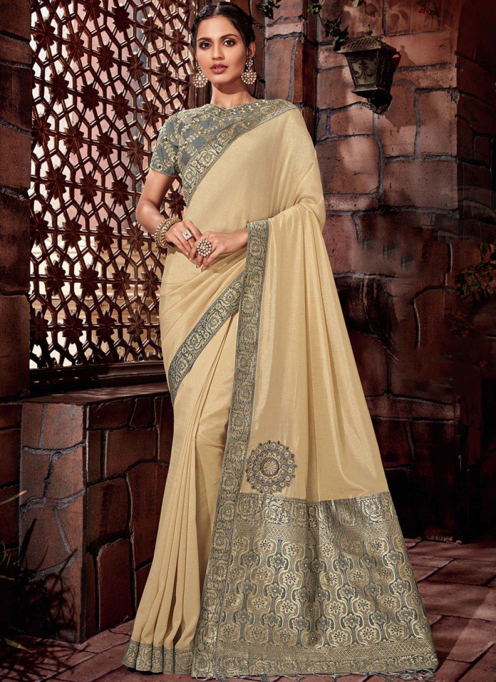 Thread Silk Designer Saree