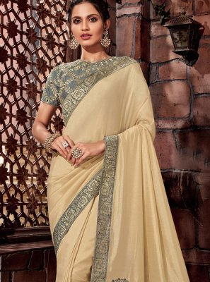 Thread Silk Designer Saree