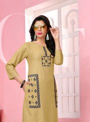 Thread Work Festival Designer Kurti
