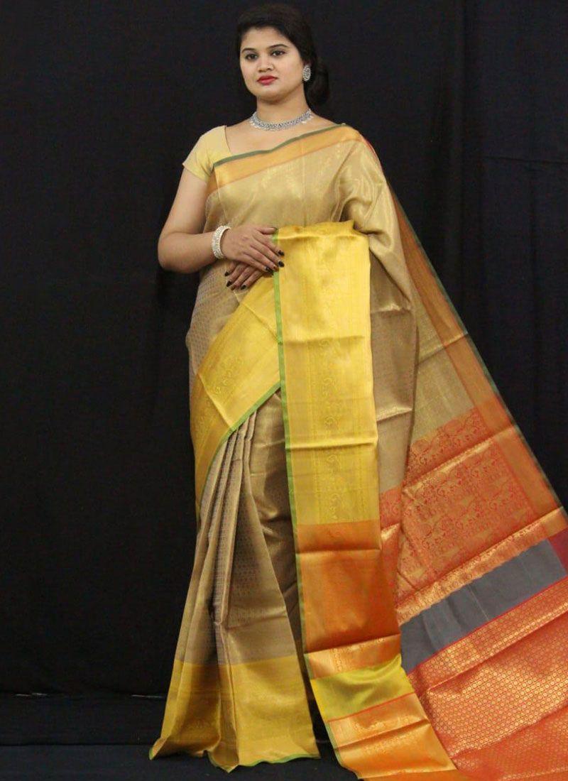 Tissue Traditional Saree