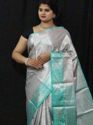 Tissue Weaving Designer Traditional Saree