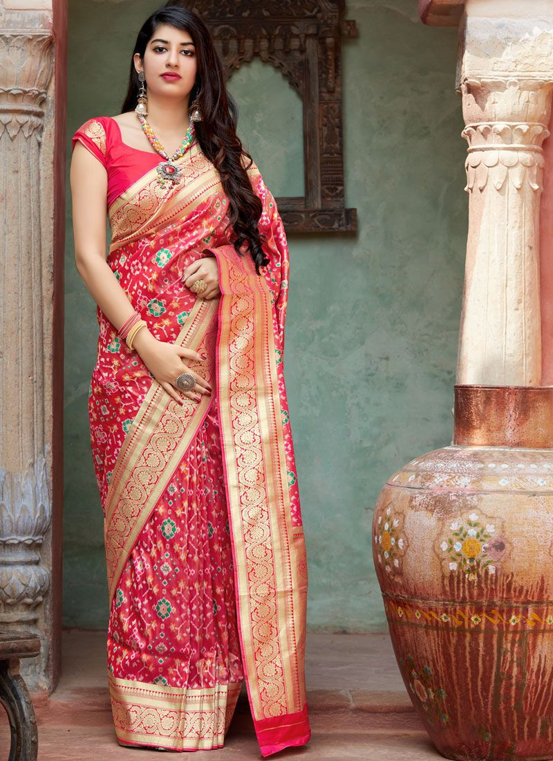 Tissue Weaving Silk Saree