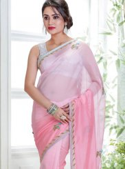 Tissue Wedding Shaded Saree