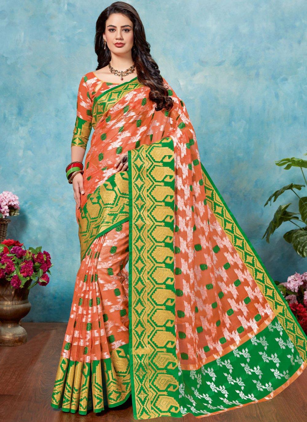 Tissue Woven Classic Designer Saree