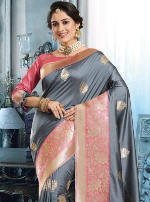 Traditional Saree For Reception
