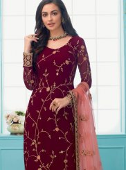 Trendy Churidar Suit For Party