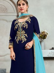 Trendy Palazzo Salwar Kameez For Party