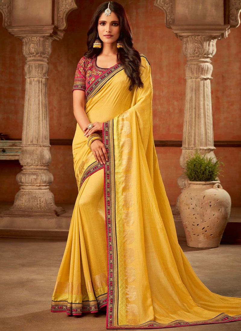 Trendy Saree For Reception