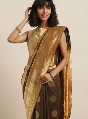 Tussar Silk Casual Silk Saree