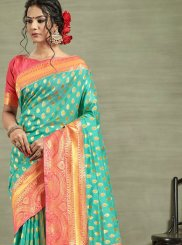 Tussar Silk Ceremonial Designer Traditional Saree