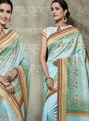 Tussar Silk Designer Traditional Saree in Multi Colour