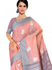 Tussar Silk Festival Casual Saree