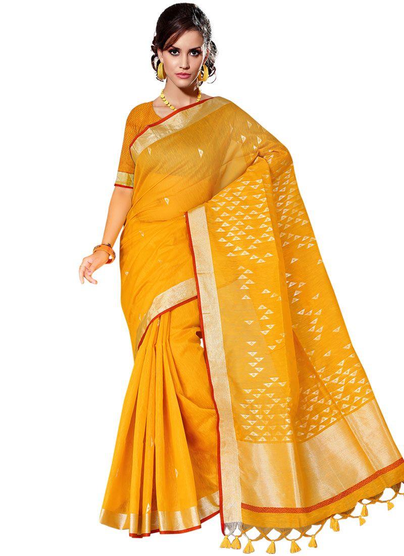 Tussar Silk Traditional Designer Saree