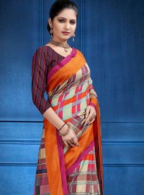 Tussar Silk Woven Classic Saree