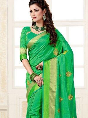 Uppada Silk Weaving Silk Saree
