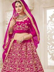 Velvet Zari Designer Lehenga Choli
