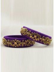 Violet Bangles
