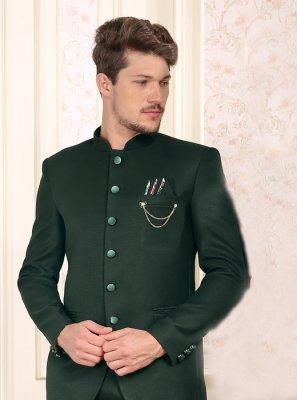 Viscose Coats & Blazers in Green
