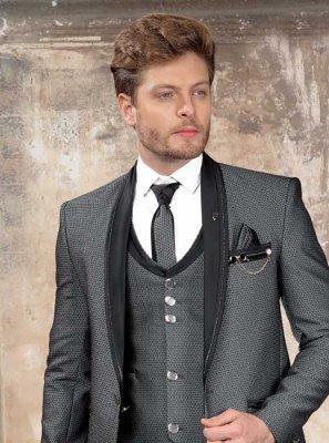 Viscose Coats & Blazers in Grey