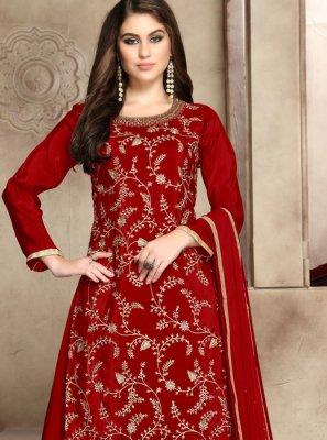 Viscose Party Trendy Palazzo Salwar Suit