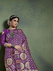 Weaving Art Banarasi Silk Designer Saree